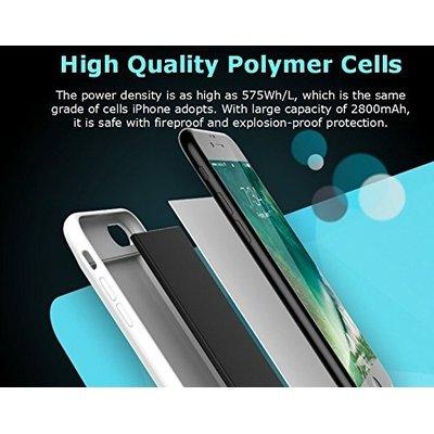 size 40 93ec4 8d7d0 Romoss EnCase 7 Battery Shell Case for iPhone 7 (2800mAh)(Black ...