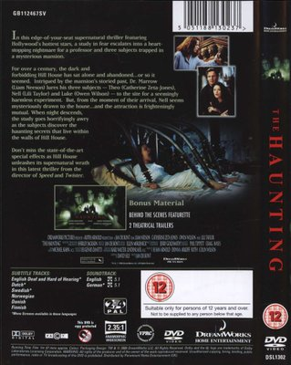 The Haunting 1999 Dvd Jan De Bont Dvd Buy Online In South Africa From Loot Co Za