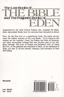 The lost books of the bible rutherford h platt
