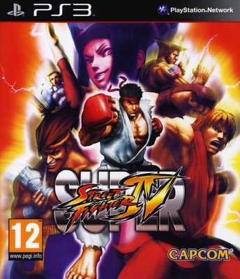 Super Street Fighter IV (PlayStation 3, Blu-ray disc): Playstation 3