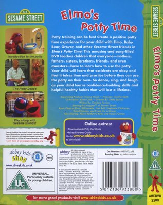 Tv Series Sesame Street Elmos Potty Time Dvd For Sale In Cape