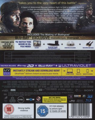 Movies - Stalingrad (English & Foreign language, Blu-ray disc) was