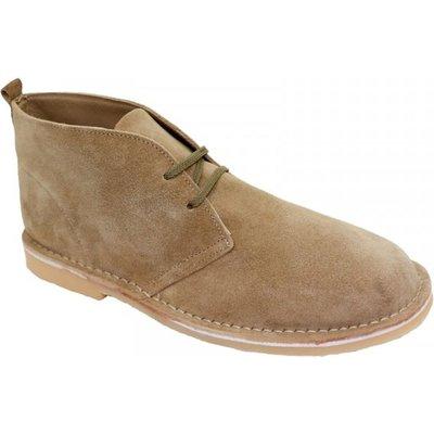 Bata Mens Safari Boot (Taupe)   Fashion