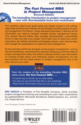 the fast forward mba in project management the fast forward mba series