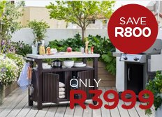 Keter Unity Outdoor Braai Unit