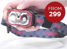 Coleman BatteryLock Headlamps